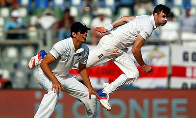 Alastair Cook (left) will miss a chance to lock duel with James Anderson