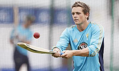 Steve O'Keefe had an outstanding series against India