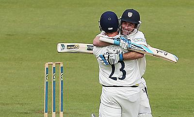 Mark Stoneman played a vital knock for Surrey
