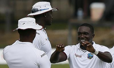 Jerome Taylor (right) had earlier quit the Test format in July 2016