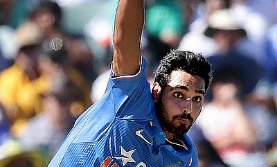 Bhuvneshwar Kumar picked a five-wicket haul in the game