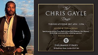 Chris Gayle Foundation Dinner  2017