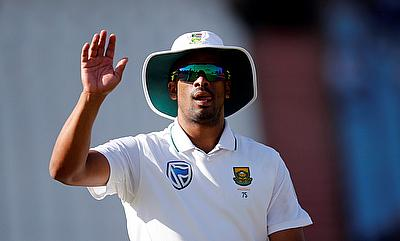 Vernon Philander managed to bowl just 17 overs in the game
