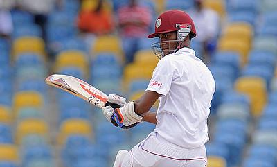 Kraigg Brathwaite had scores of 0 and 14 in the first Test