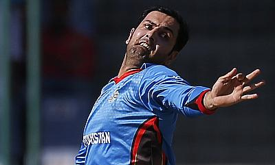 Mohammad Nabi conceded just 13 runs in four overs and also picked a wicket