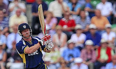 Paul Collingwood was Durham's hero on Thursday