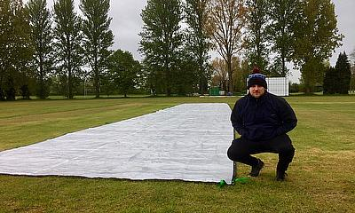 Bletchley CC Bags Itself A Rain Cover As Winner of total-play Ltd Competition