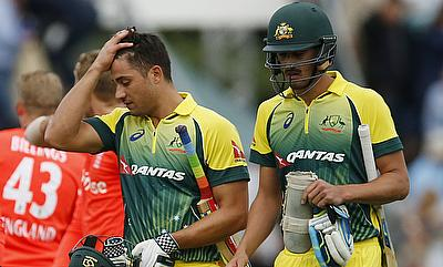 Marcus Stoinis (left) has been declared fit by CA medical team