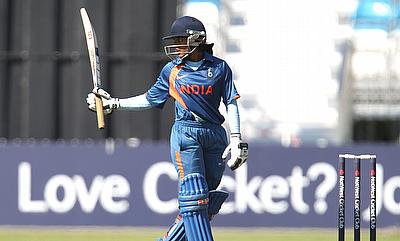 Veda Krishnamurthy scored an unbeaten fifty in the chase