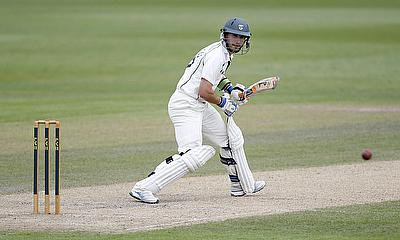 Daryl Mitchell scored 120 for Worcestershire