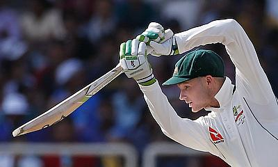 Peter Handscomb scored a blistering century for Yorkshire