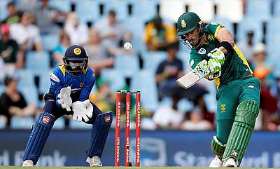 Faf du Plessis (right) will be one of the key player for South Africa