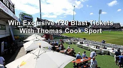 Win Exclusive T20 Blast Tickets With Thomas Cook Sport