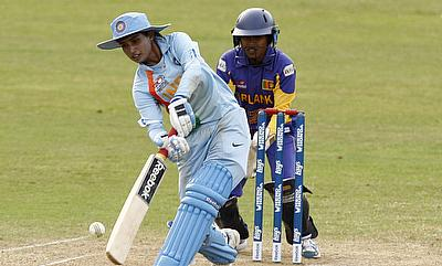 Mithali Raj (left) led from the front for India