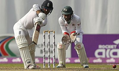 Ben Duckett (left) scored a sparkling century