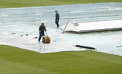 Day three at Headingley was washed out without a ball being bowled