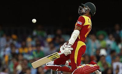 Sikandar Raza scored an unbeaten 67 run knock