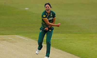 Marizanne Kapp registered her career best figures against West Indies