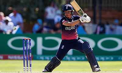 Sarah Taylor registered her career best score of 147