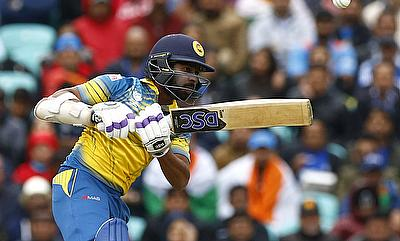 Niroshan Dickwella scored 102 off 116 balls