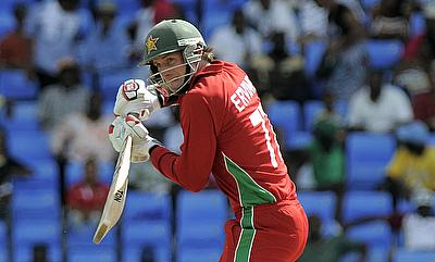 Craig Ervine saw Zimbabwe through in the chase
