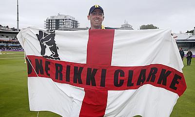 Rikki Clarke steered Warwickshire to victory