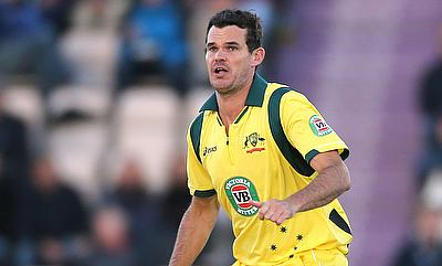 Clint McKay registered figures of 11 for five against Worcestershire