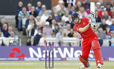 Jos Buttler scored 28 runs off 18 deliveries for Lancashire