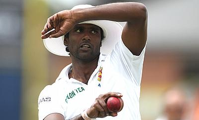 Shaminda Eranga was banned from bowling in June last year