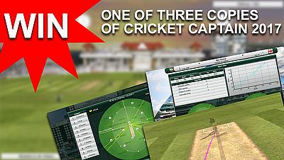 Win a copy of 'Cricket Captain 2017'