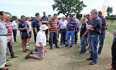 Dennis & SISIS Cricket Pitch Renovation Day a Huge Success