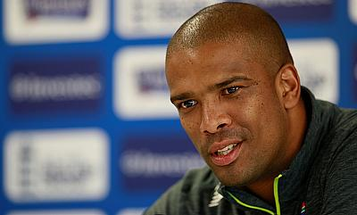 Vernon Philander in a press conference on Wednesday