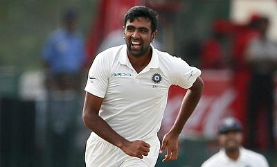 Ravichandran Ashwin picked two wickets at the stroke of stumps