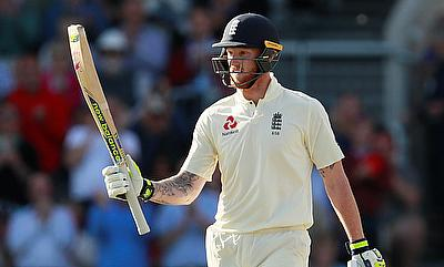 Ben Stokes top scored for England with a score of 58