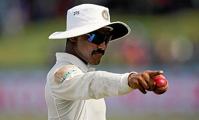 Ravindra Jadeja continued his rich vein of form with a five wicket haul