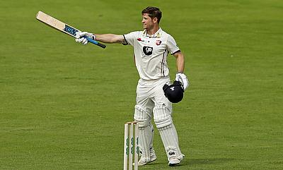 Sean Dickson scored a fine century for Kent in tour game against West Indies