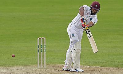 Kieran Powell scored 92 runs on day one