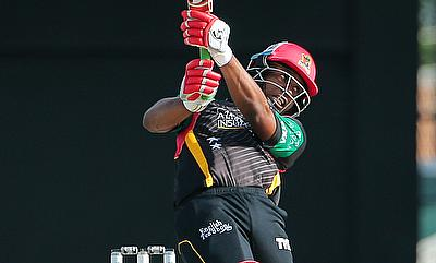 Evin Lewis scored 52-ball 92 for St Kitts