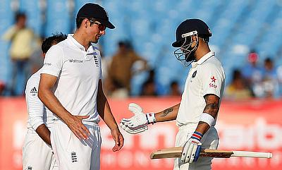 England and India will lock horns in a five match Test series next summer