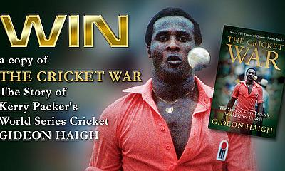 Win A Copy Of The Cricket War  By Gideon Haigh