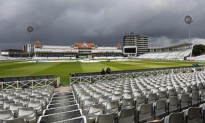The game in Trent Bridge was called off due to wet weather.