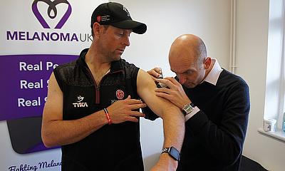 Marcus Trescothick Joins Somerset In Fight Against Skin Cancer