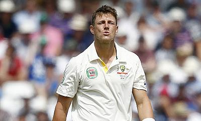 James Pattinson continues his recovery from back problem