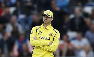 Steven Smith has headed back home following a shoulder injury