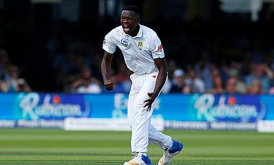 Kagiso Rabada came up with a man of the match performance