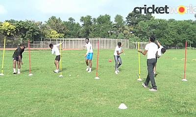 Fast Bowling Fitness Drill with Chinmoy Roy