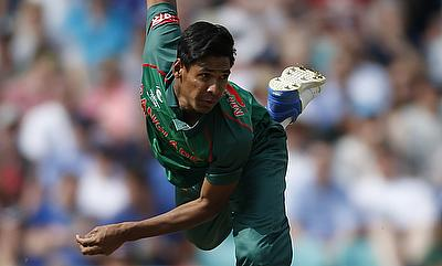 Mustafizur Rahman is under doubt for the remaining two ODIs as well