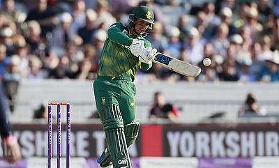 Quinton de Kock played a splendid innings in Kimberley on Sunday