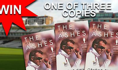 THE ASHES It's All About the Urn by Graeme Swann - Competition Book