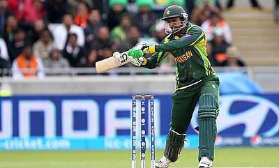 Shoaib Malik scored a quick 45 in the chase